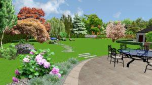 Projektowanie ogrodów 4