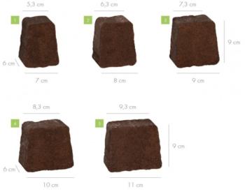 Wymiary kostki libet piccola bronzo