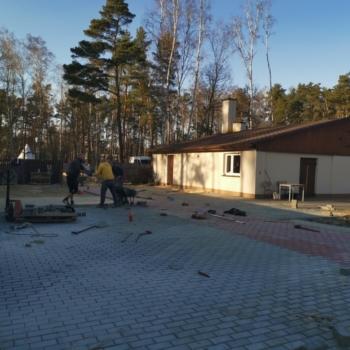 Układanie Kostki Polbruk Holland 8 i 6 | Warszawa