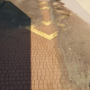 Czyszczenie kostki brukowej | Piccola Żółta Brązowa