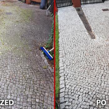 Czyszczenie kostki granitowej 45m Warszawa Wawer