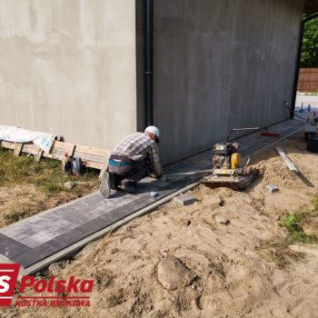 Plac z Kostki Polbruk Commix Nerino i grafit   Usługi brukarskie