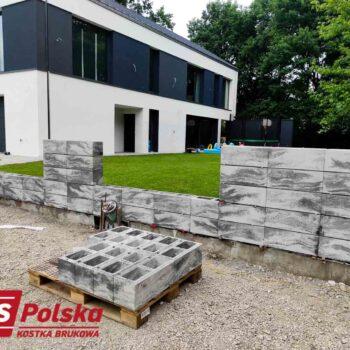 Kompleksowe układanie kostki przy domu + ogrodzenie